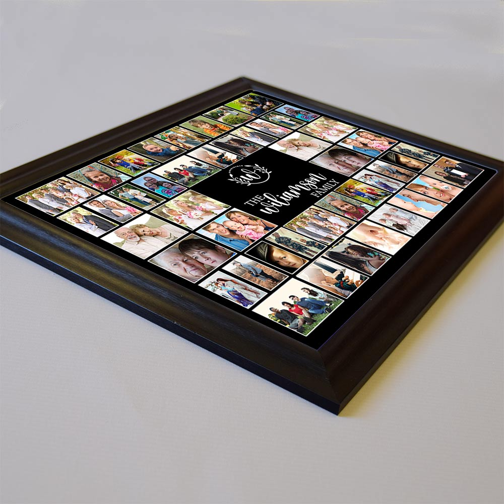It IS Us Family Framed Photo Collge