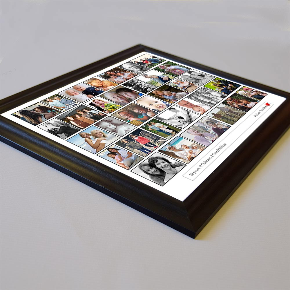 Just Photos To Love On Framed Photo Collage