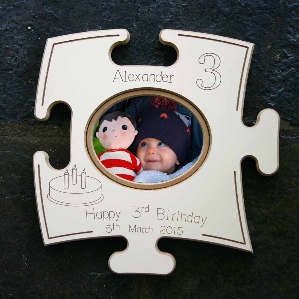 "Birthday ""Puzzle Board"" Gift Frame - Do More With Your Pictures"