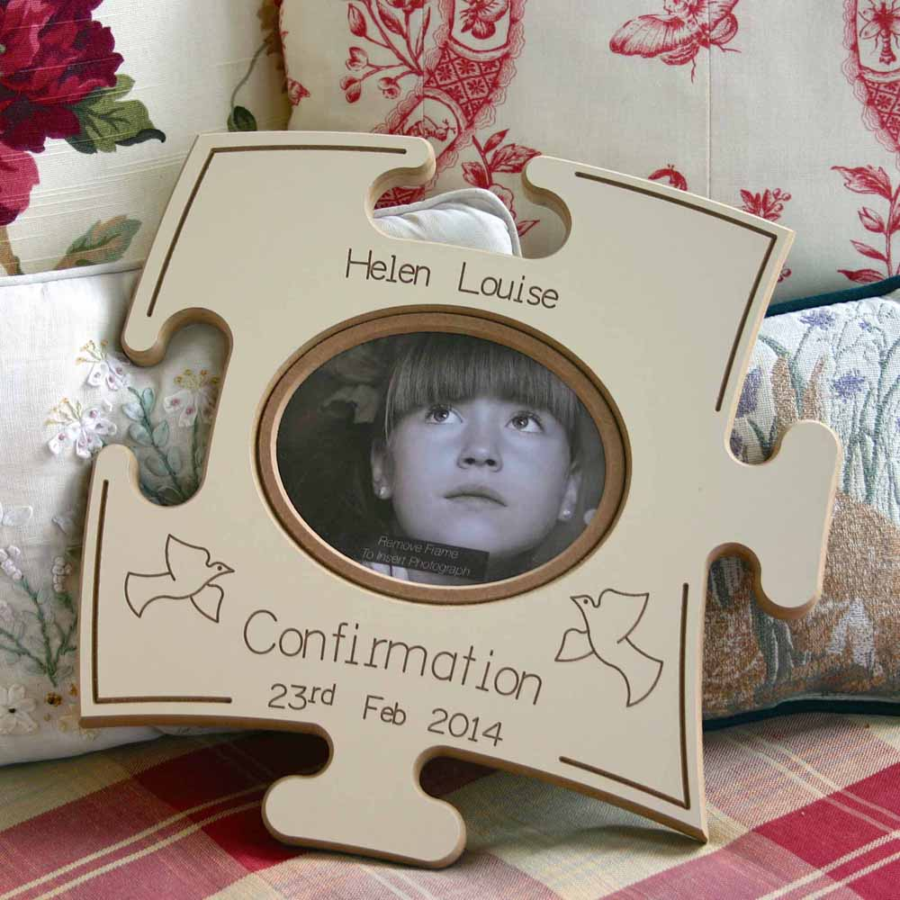 Confirmation Puzzle Board Gift Frame