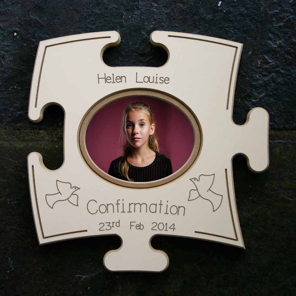Confirmation Puzzle Board Gift Frame - Do More With Your Pictures
