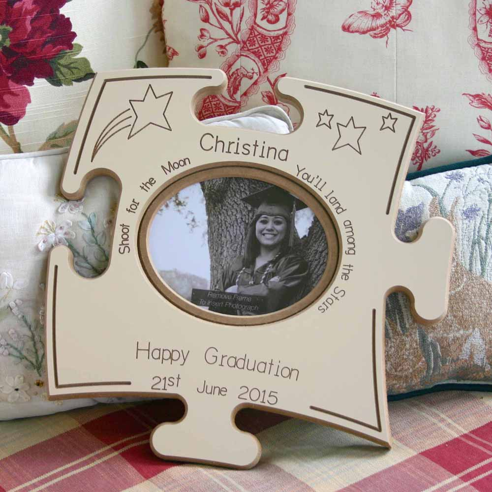 Graduation Puzzle Board Gift Frame