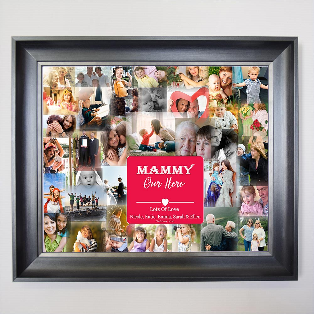 Mammy To The Worlds Collage Framed Photo Collage