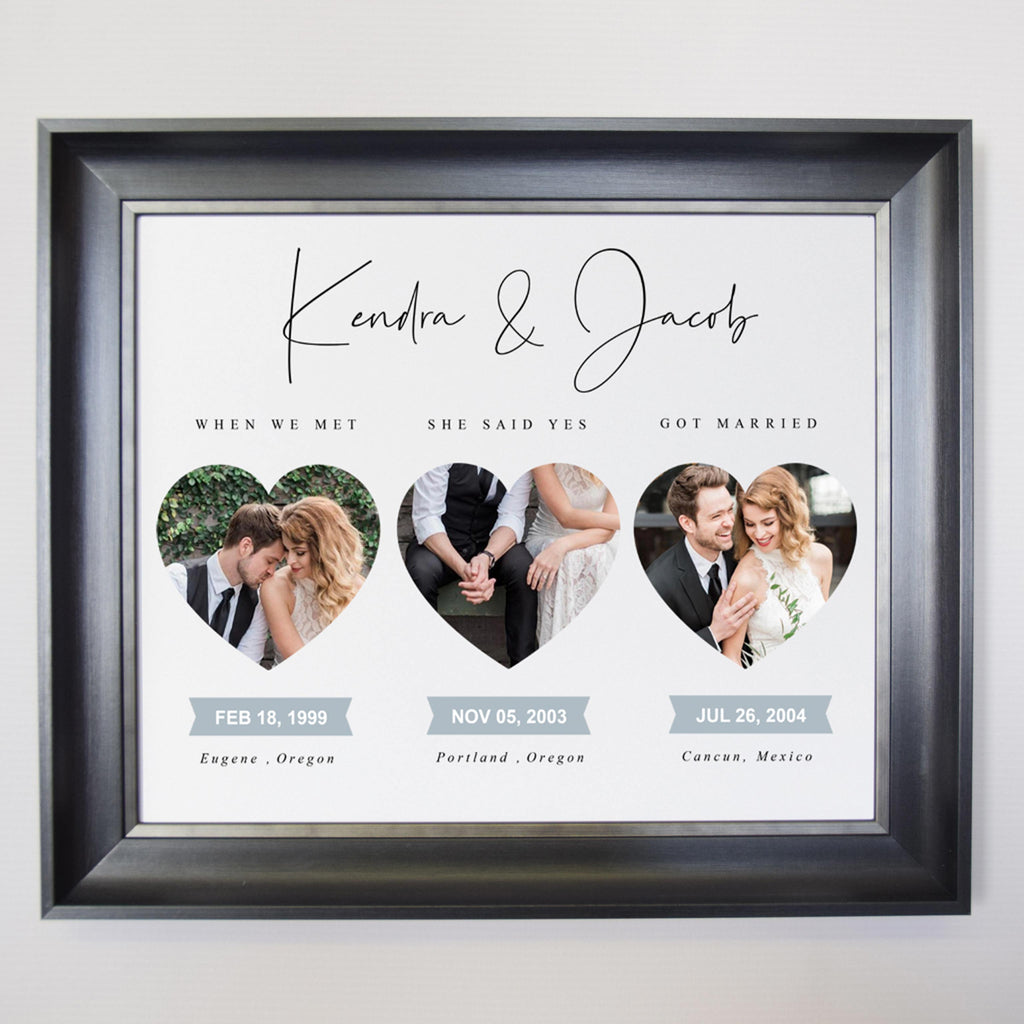 Our Love Together Framed Photo Collage