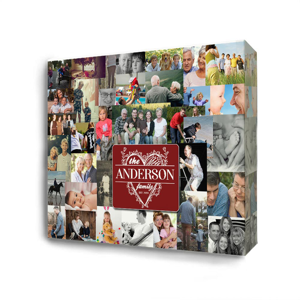 Our Precious Memories In One Place On Canvas
