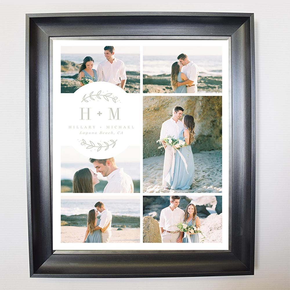 Our Special Day Wedding Framed Phto Collage