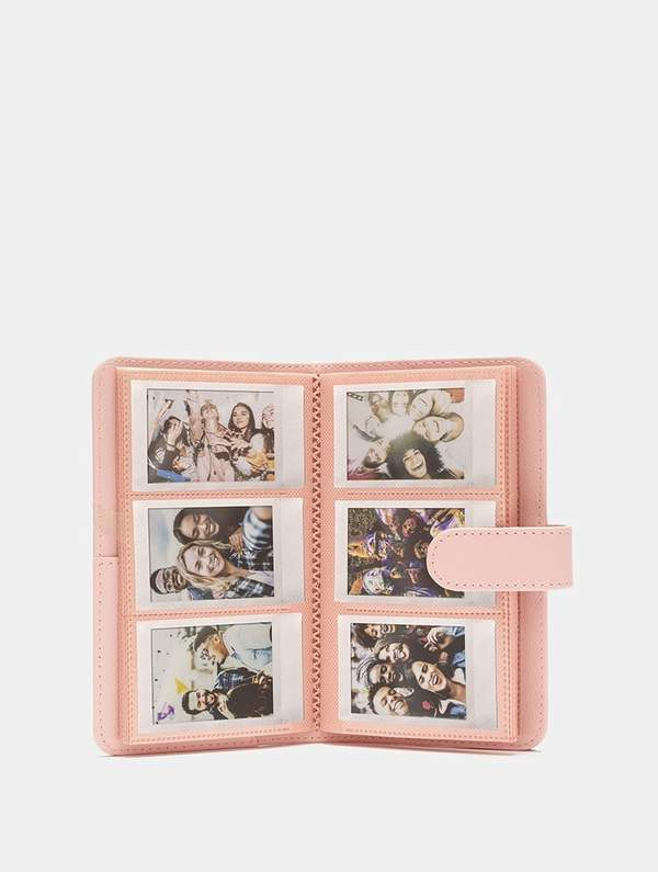 Fujifilm Instax Mini Striped Photo Album | Pink