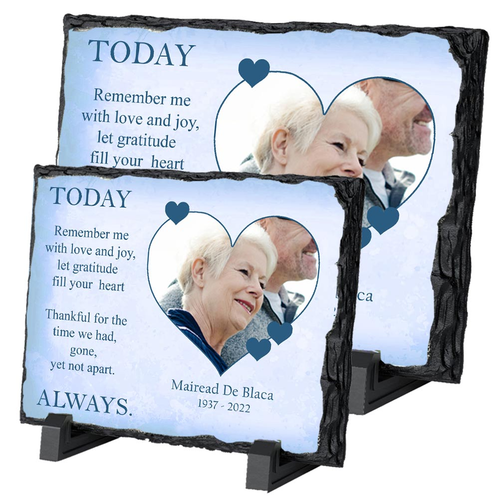 In loving Memory Remembrance Memorial Slate