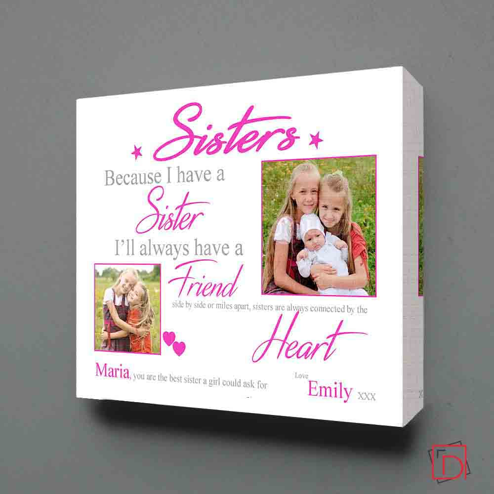 My Sister My Friend Sentiment Frame