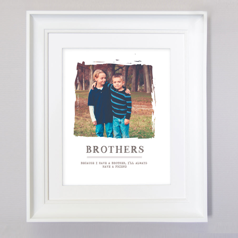 Brother Little Childhood That You Never Loose Wall Art - Do More With Your Pictures