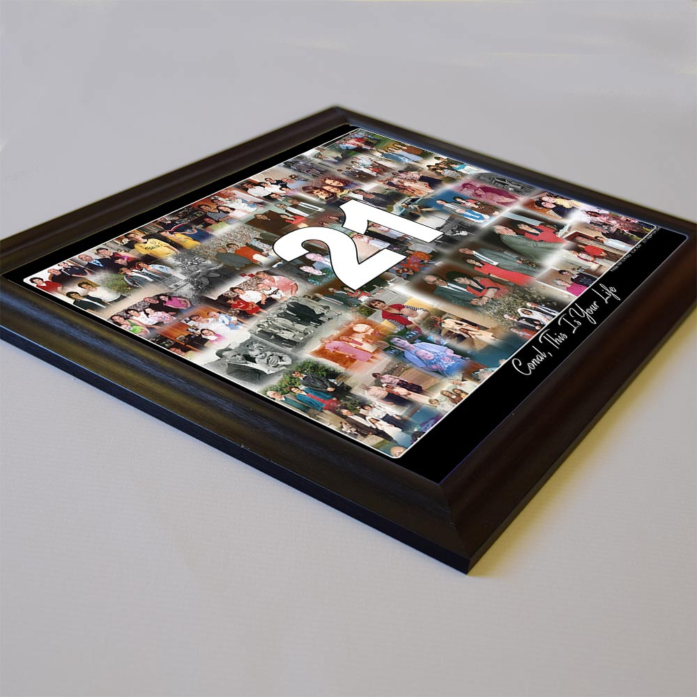 This IS Your Life Birthday Memories Framed