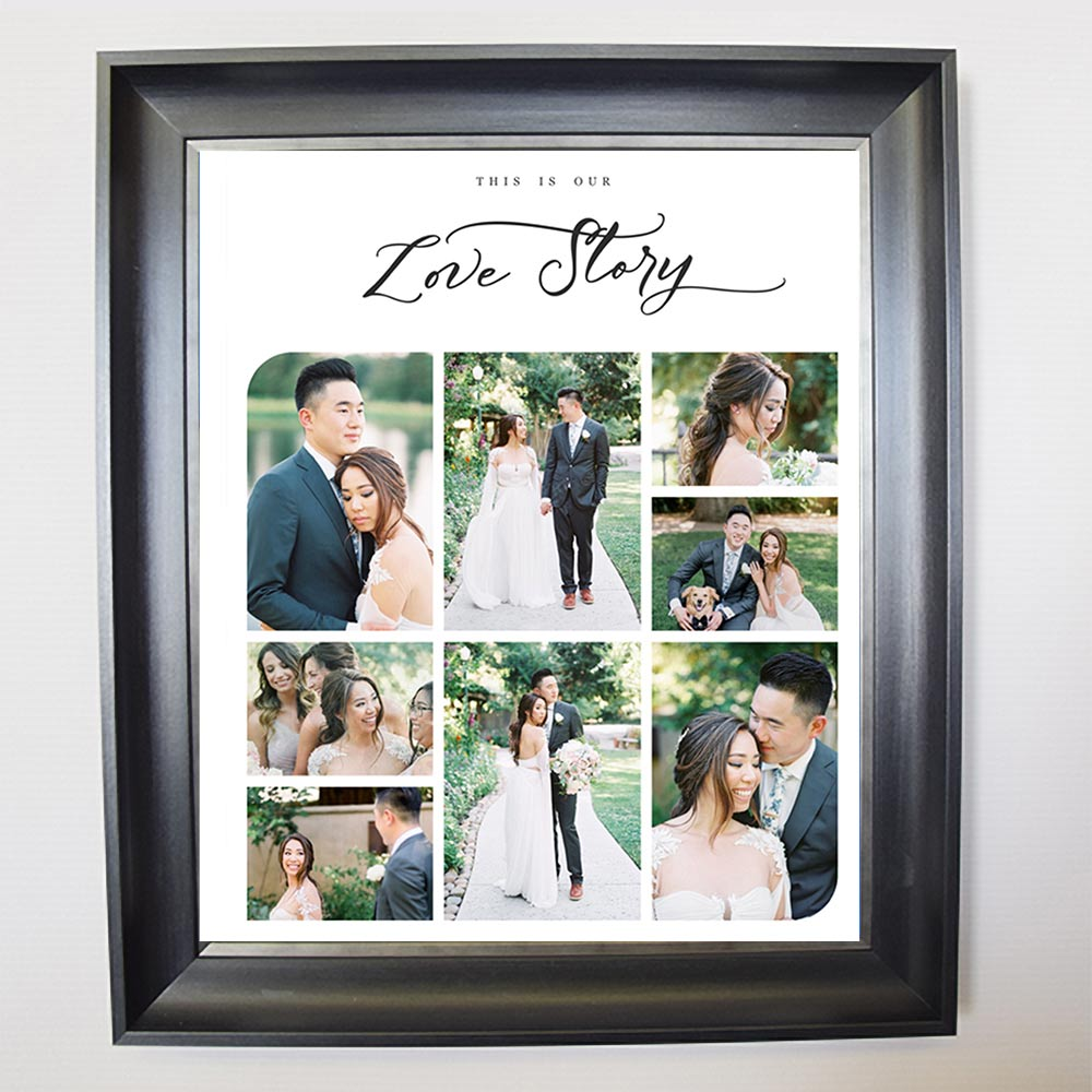 This Love Story IS Ours Framed Photo Collage