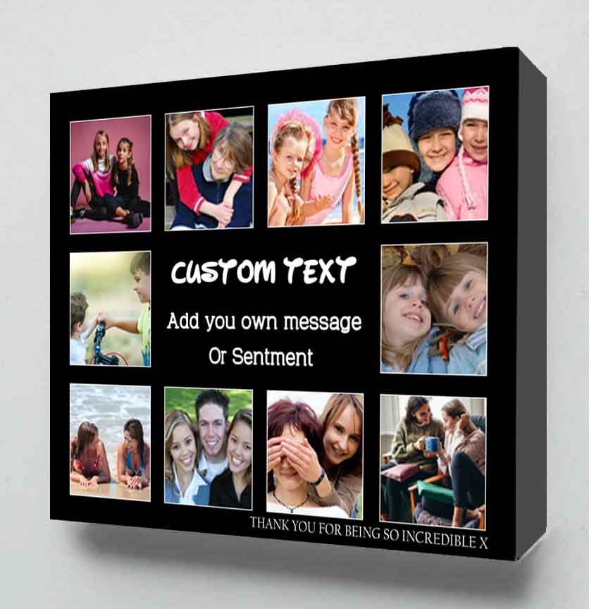Custom Canvas Collage From Your Photos