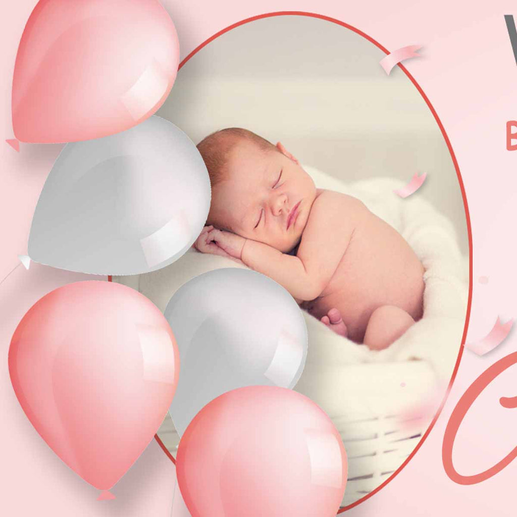 Christening Party Personalised Banner