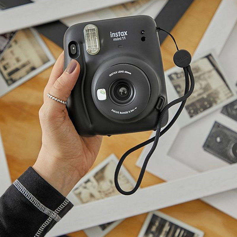 Fujifilm Instax Mini 11 Instant Camera | Charcoal Grey