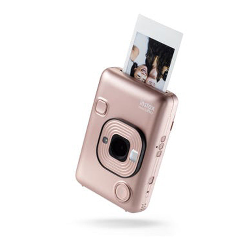 Fujifilm Instax Mini Liplay Instant Camera | Blush Gold