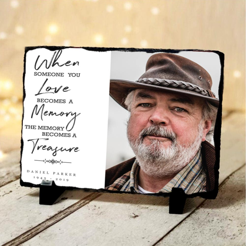 Memorial Slate When Someone You Love Is A Treasure