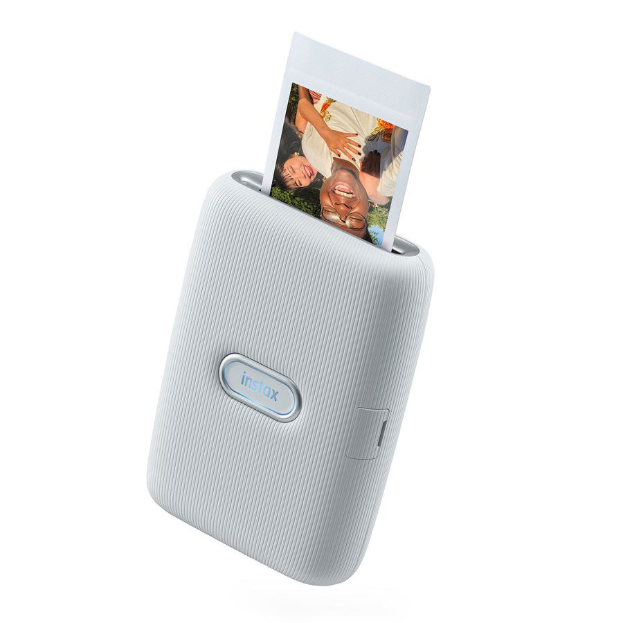 Fujifilm Instax Mini Link Smart Phone Printer | Ash White
