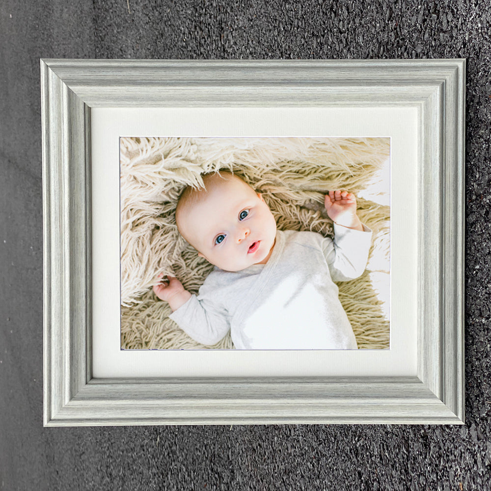 Mounted Atlantic Almond Wooden Photo Frame in Various Sizes