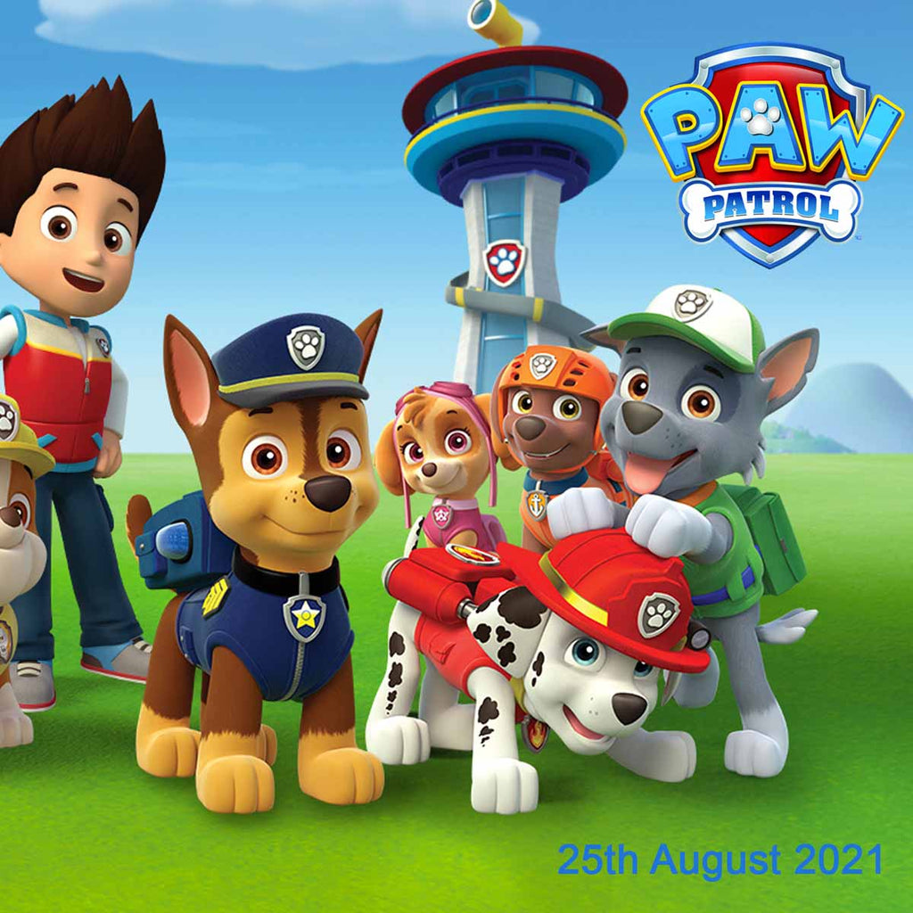 Paw Patrol Birthday Party Personalised Photo Banner