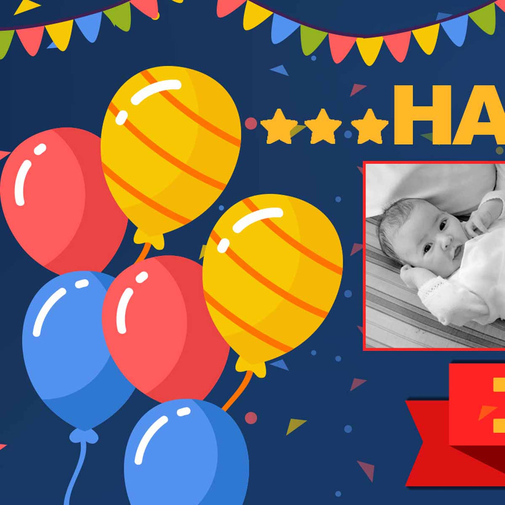 Its a Photo Kind Of Birthday Party Personalised Banner