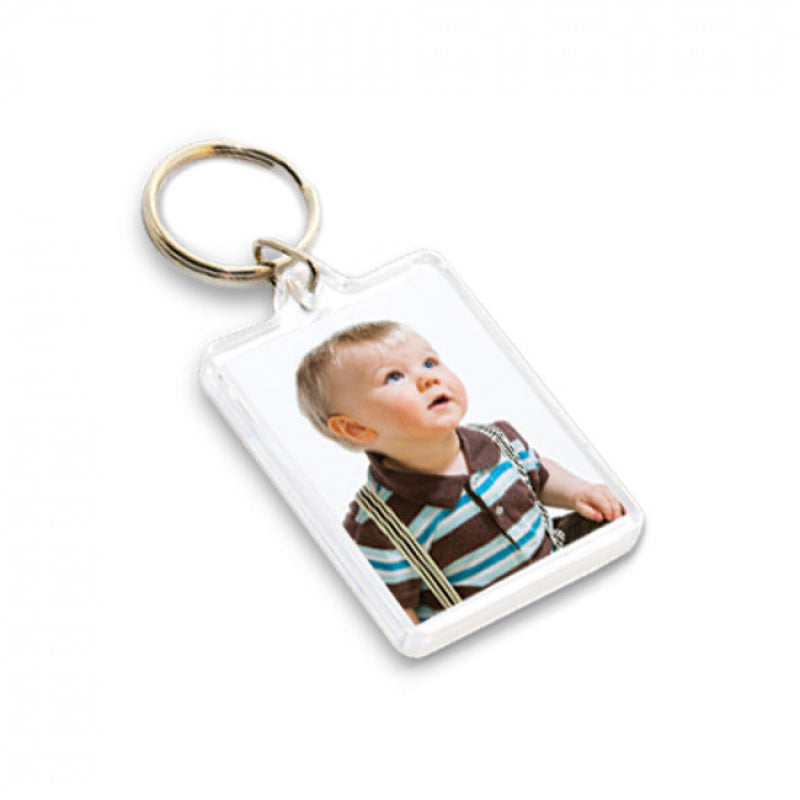 Photo Key Ring Best Dad Ever