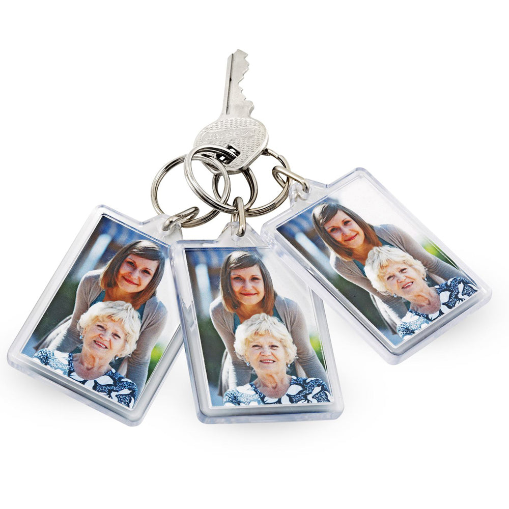Photo Key Rings set of 3