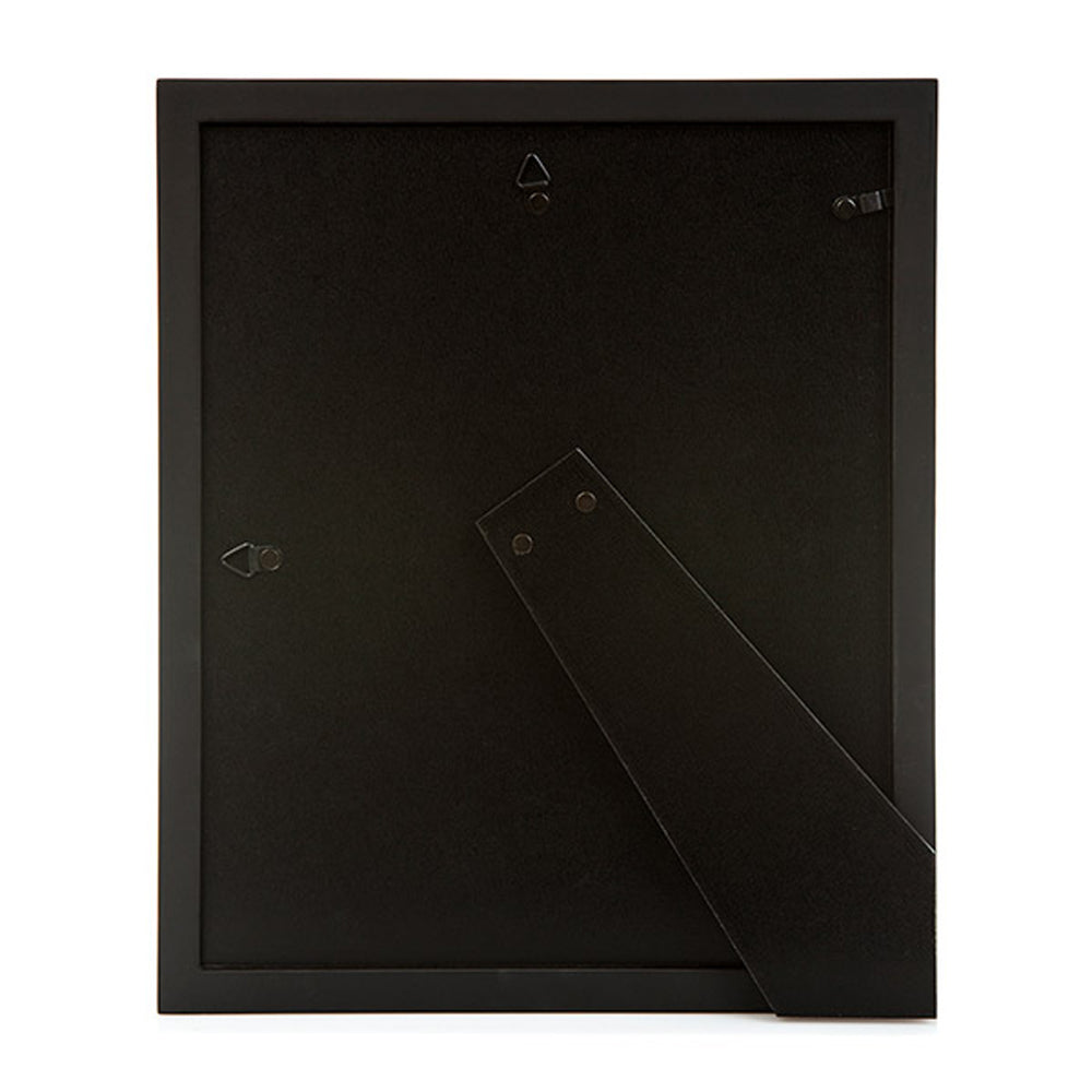 Black Pacific 12 x 16 Photo Frame with White Mount
