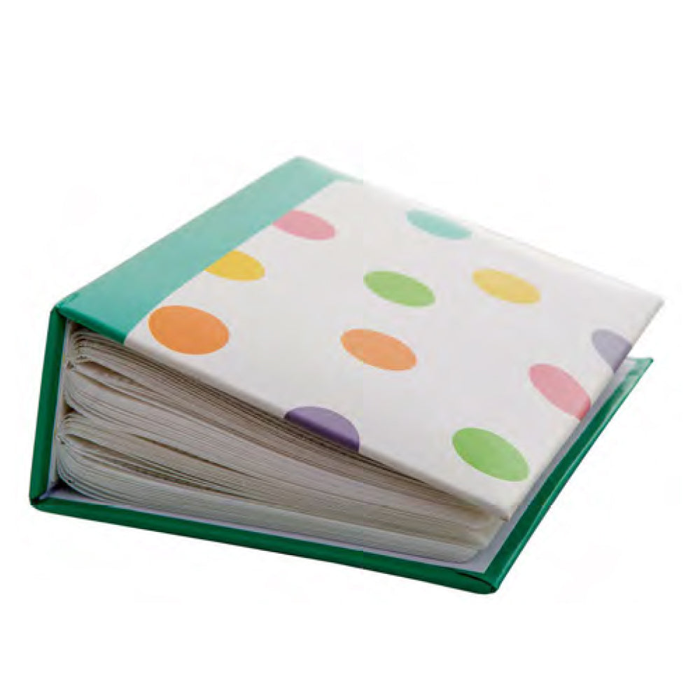 "Kenro Candy Series 100 Photos 5x7"" Photo Album Polka Dot"
