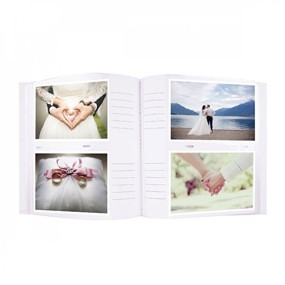 "Wedding Photo Album 200 Photos 5x7"" Pearl Series"