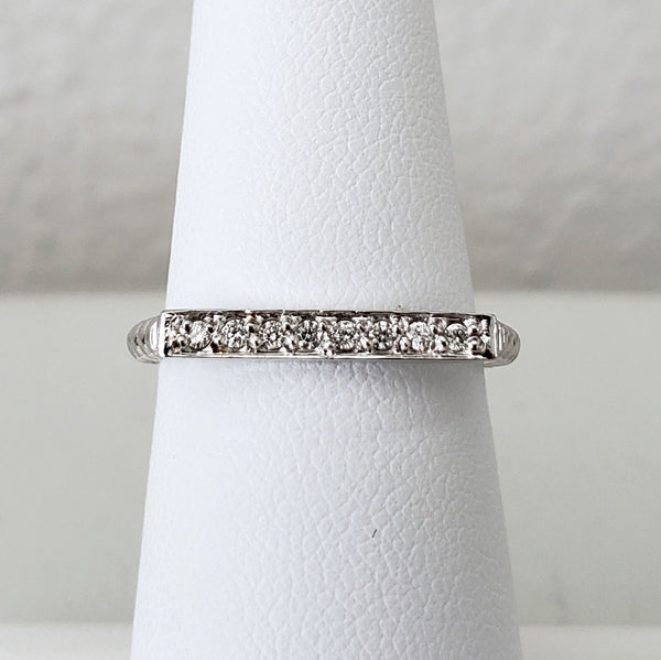 Diamond Stackable Ring (Each)