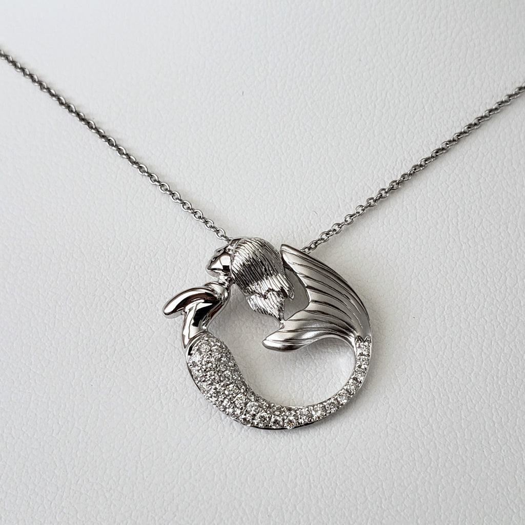 Diamond Mermaid Necklace