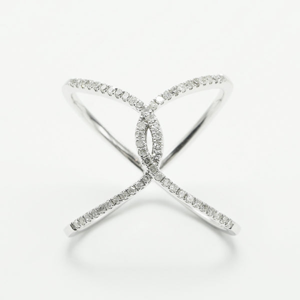 Diamond Bridge Ring