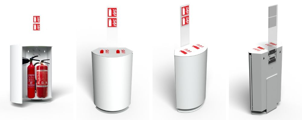 Design box fire extinguisher