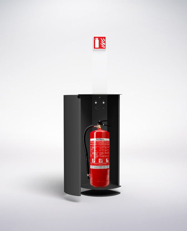fire extinguisher cabinet height