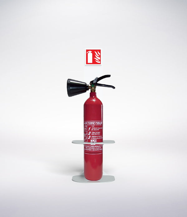 fire extinguisher floor stand