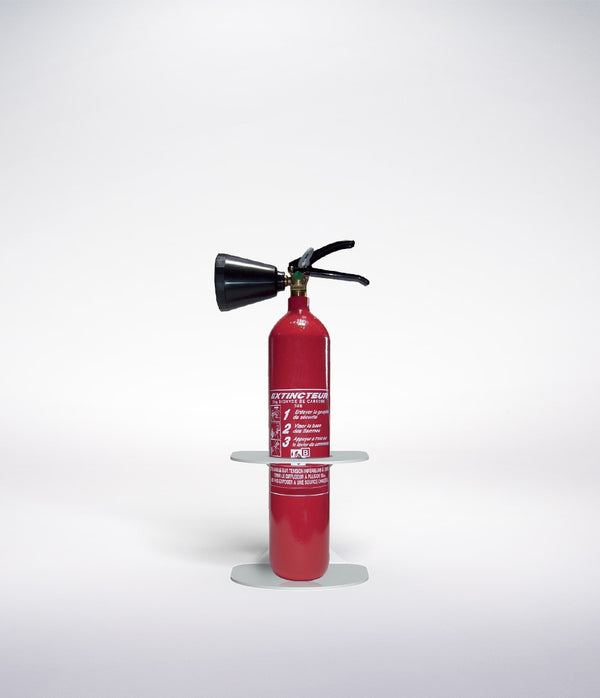 co2 fire extinguisher stand