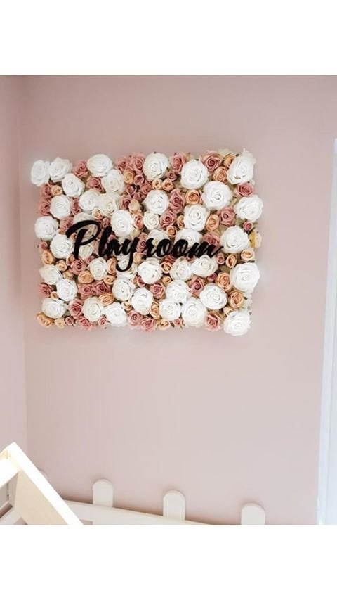 Flower Wall Sign