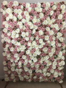 Glam flower wall