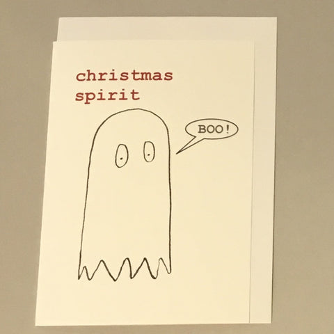 Christmas Spirit Card