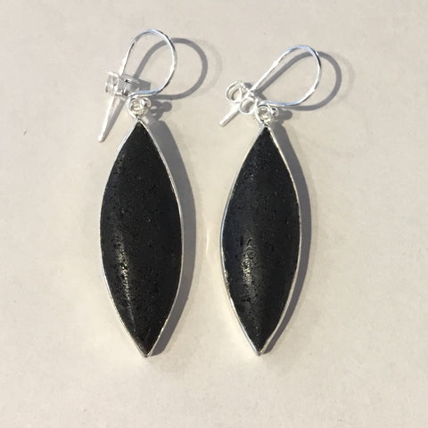 Lava Ellipse Earrings 2