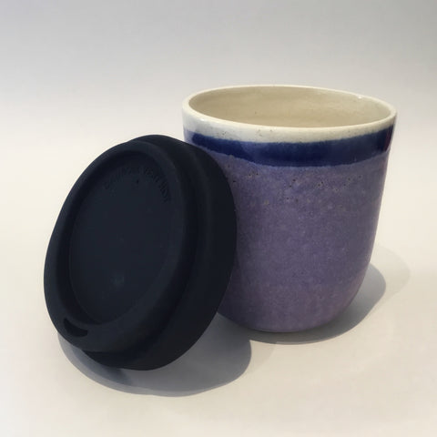 Earthy Purple Travel Cup (large)