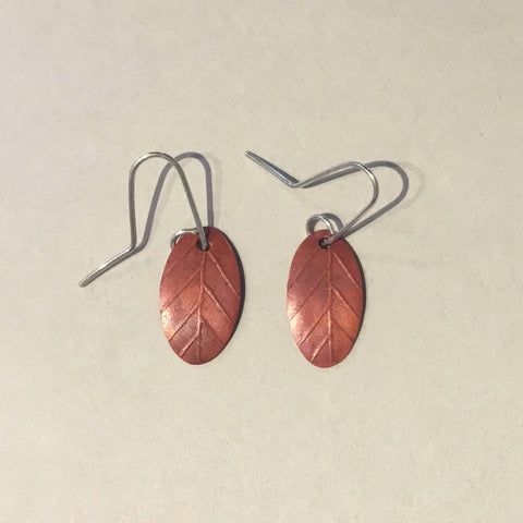 Garland Earrings (copper)