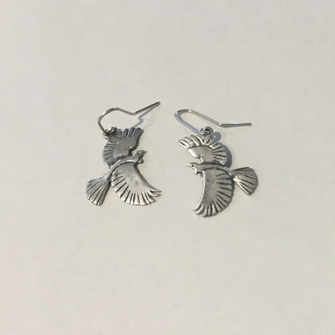 Tui Earrings (sterling silver)