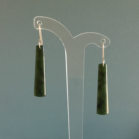 Darren Hill Pounamu Earrings 5