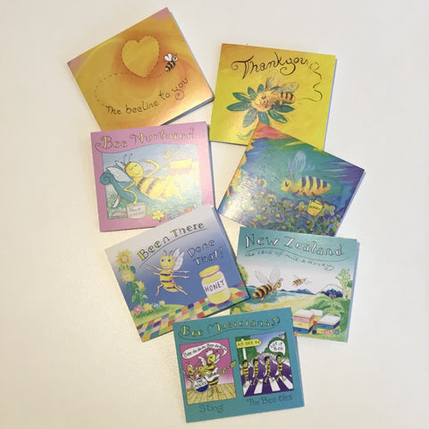Assorted Colin Langmead Bee Gift Cards