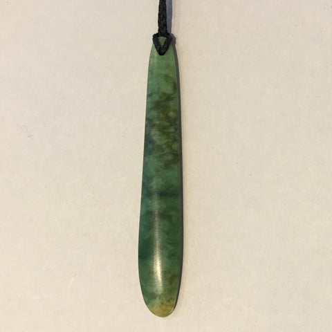Darren Hill Pounamu Free Form & Toki Pendants