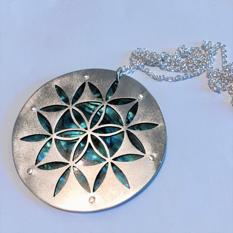 Large Flower of Life Pendant JB39