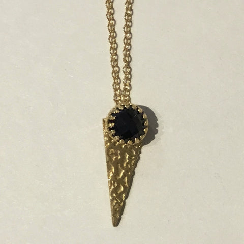Triangle Lace Pendant