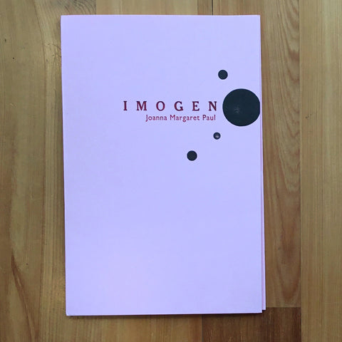 Imogen - A book of poems by Joanna Margaret Paul